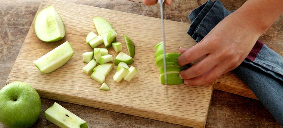 שלב שני - קראמבל תפוחים